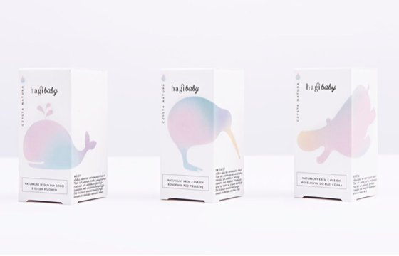 baby cosmetics packaging
